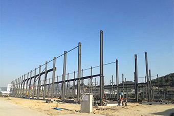 2017年新厂房开工建设
